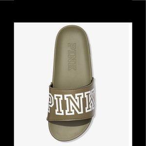 NWT Victoria's Secret Pink Single strap slide
